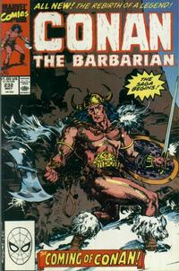 Cover Thumbnail for Conan the Barbarian (Marvel, 1970 series) #232 [Direct Edition]