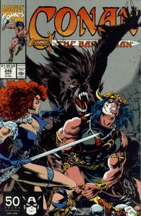 Cover Thumbnail for Conan the Barbarian (Marvel, 1970 series) #246 [Direct Edition]