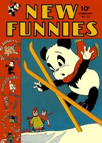 Cover Thumbnail for New Funnies (Dell, 1942 series) #72