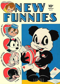 Cover Thumbnail for New Funnies (Dell, 1942 series) #73