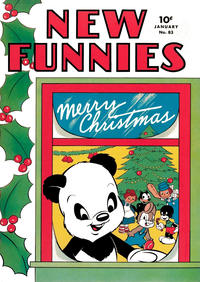 Cover Thumbnail for New Funnies (Dell, 1942 series) #83