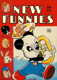 Cover Thumbnail for New Funnies (Dell, 1942 series) #86