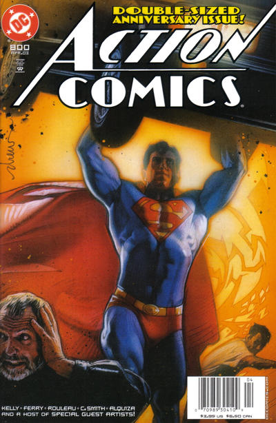 Cover for Action Comics (DC, 1938 series) #800 [Direct Edition]