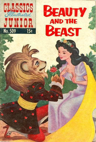Cover for Classics Illustrated Junior (Gilberton, 1953 series) #509 - Beauty and the Beast