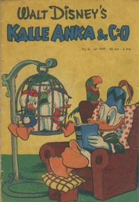 Cover Thumbnail for Kalle Anka & C:o (Richters Förlag AB, 1948 series) #7/1949