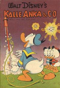 Cover Thumbnail for Kalle Anka & C:o (Richters Förlag AB, 1948 series) #1/1953