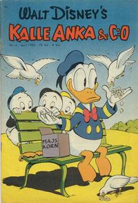 Cover Thumbnail for Kalle Anka & C:o (Richters Förlag AB, 1948 series) #4/1953