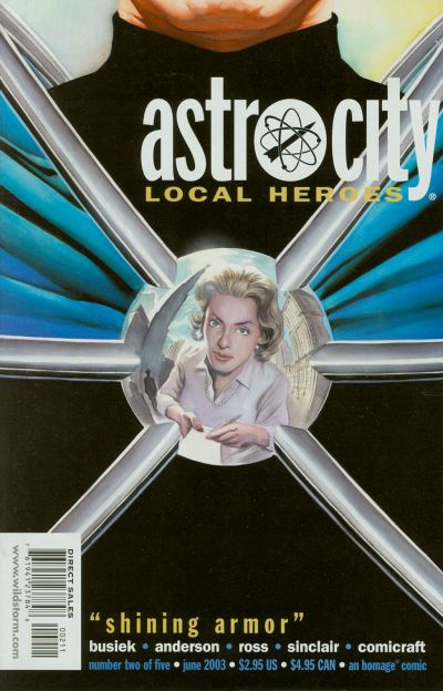 Cover for Astro City: Local Heroes (DC, 2003 series) #2