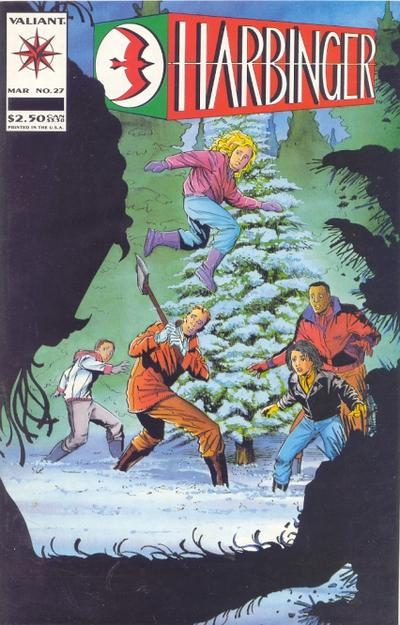 Cover for Harbinger (Acclaim / Valiant, 1992 series) #27