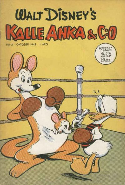 Cover for Kalle Anka & C:o (1948 series) #2/1948
