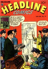Cover for Headline Comics (1943 series) #v8#3 (57)