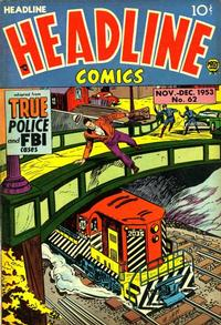 Cover Thumbnail for Headline Comics (Prize, 1943 series) #v9#2 (62)
