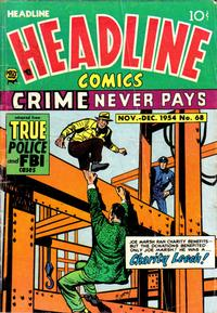 Cover Thumbnail for Headline Comics (Prize, 1943 series) #v10#2 (68)
