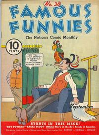 Cover Thumbnail for Famous Funnies (Eastern Color, 1934 series) #38