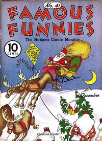 Cover Thumbnail for Famous Funnies (Eastern Color, 1934 series) #41