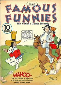 Cover Thumbnail for Famous Funnies (Eastern Color, 1934 series) #44