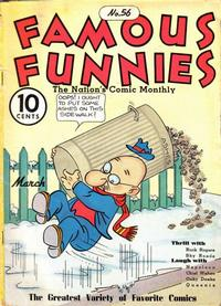Cover Thumbnail for Famous Funnies (Eastern Color, 1934 series) #56