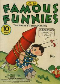 Cover Thumbnail for Famous Funnies (Eastern Color, 1934 series) #60