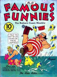Cover Thumbnail for Famous Funnies (Eastern Color, 1934 series) #61
