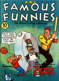 Cover Thumbnail for Famous Funnies (Eastern Color, 1934 series) #66