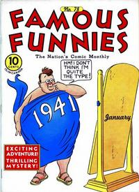 Cover Thumbnail for Famous Funnies (Eastern Color, 1934 series) #78