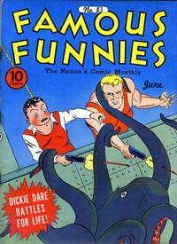 Cover Thumbnail for Famous Funnies (Eastern Color, 1934 series) #83