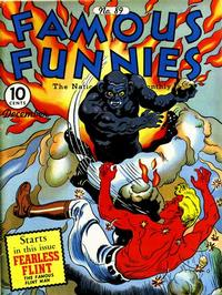 Cover Thumbnail for Famous Funnies (Eastern Color, 1934 series) #89