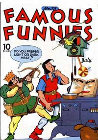 Cover Thumbnail for Famous Funnies (Eastern Color, 1934 series) #108