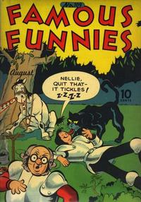 Cover Thumbnail for Famous Funnies (Eastern Color, 1934 series) #109