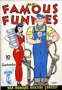 Cover Thumbnail for Famous Funnies (Eastern Color, 1934 series) #110
