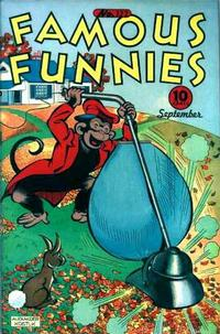 Cover Thumbnail for Famous Funnies (Eastern Color, 1934 series) #122