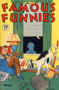 Cover Thumbnail for Famous Funnies (Eastern Color, 1934 series) #128