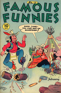 Cover Thumbnail for Famous Funnies (Eastern Color, 1934 series) #139