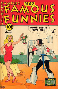 Cover Thumbnail for Famous Funnies (Eastern Color, 1934 series) #167