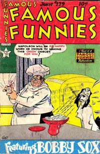 Cover Thumbnail for Famous Funnies (Eastern Color, 1934 series) #179