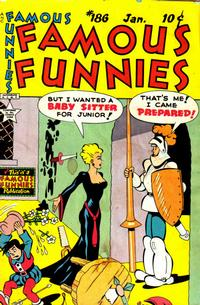 Cover Thumbnail for Famous Funnies (Eastern Color, 1934 series) #186