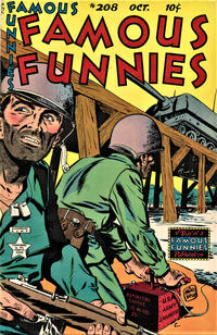 Cover Thumbnail for Famous Funnies (Eastern Color, 1934 series) #208