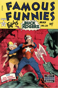 Cover Thumbnail for Famous Funnies (Eastern Color, 1934 series) #211