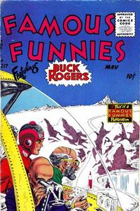 Cover Thumbnail for Famous Funnies (Eastern Color, 1934 series) #217