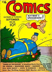 Cover Thumbnail for The Comics (Dell, 1937 series) #10