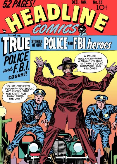 Cover for Headline Comics (Prize, 1943 series) #v4#3 (33)