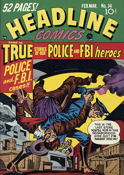 Cover for Headline Comics (Prize, 1943 series) #v4#4 (34)