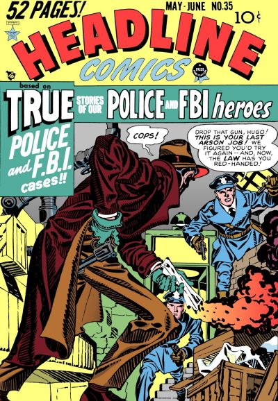 Cover for Headline Comics (Prize, 1943 series) #v4#5 (35)