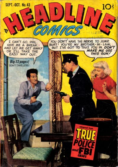 Cover for Headline Comics (1943 series) #v6#1 (43)
