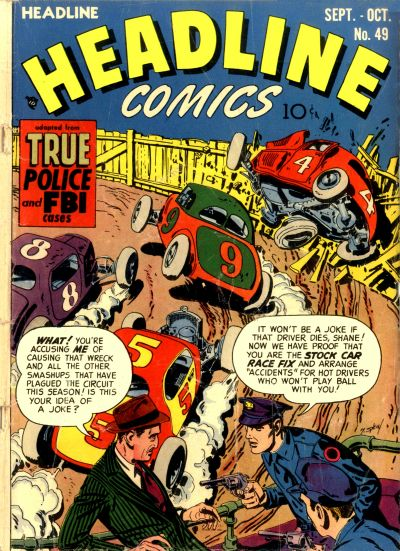Cover for Headline Comics (Prize, 1943 series) #v7#1 (49)