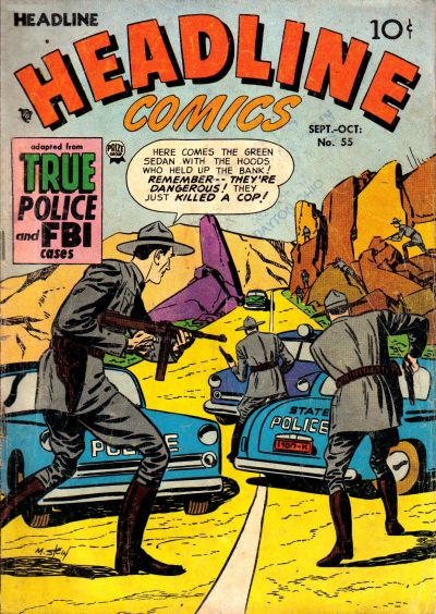 Cover for Headline Comics (Prize, 1943 series) #v8#1 (55)