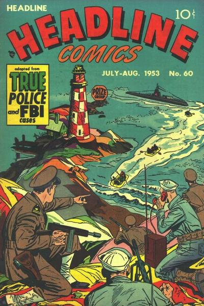 Cover for Headline Comics (Prize, 1943 series) #v8#6 (60)