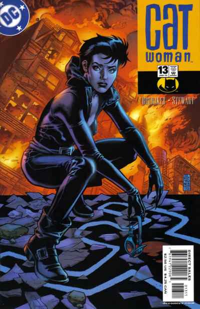 Cover for Catwoman (2002 series) #13