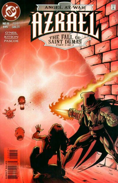 Cover for Azrael (DC, 1995 series) #26