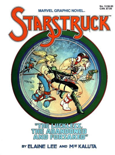 Cover for Marvel Graphic Novel (1982 series) #[13] - Starstruck